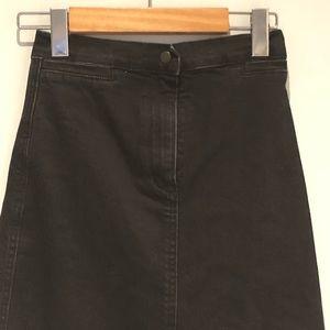 Aritzia Skirts - Aritzia Wilfred Free Denim Midi skirt